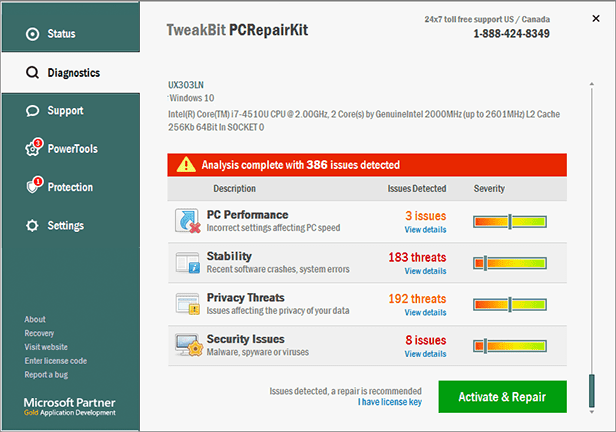 TweakBit PCRepairKit License Key