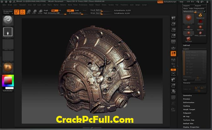 Pixologic ZBrush 2020.1.1 Full Version