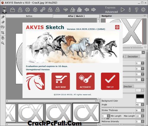 AKVIS Sketch 23 Crack