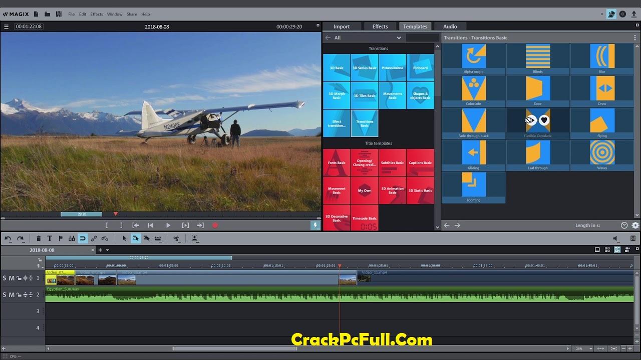 MAGIX Movie Edit Pro 2020 Crack