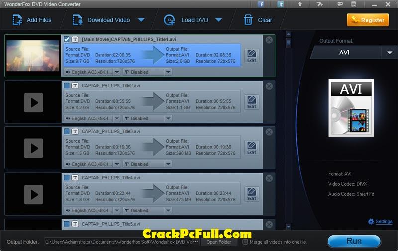 WonderFox DVD Video Converter Crack