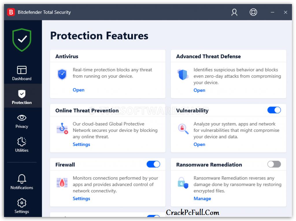 Bitdefender Total Security 2021 Activation Code