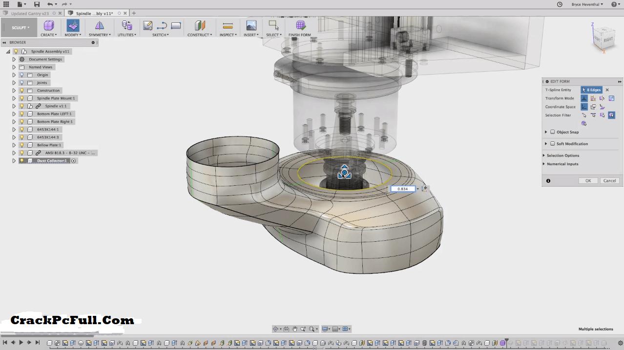Autodesk Fusion 360 Crack 2.0.10356 + Full Keygen [Latest]