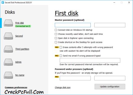 Cyrobo Hidden Disk Pro Crack 5.04 + Activation Key [Latest]