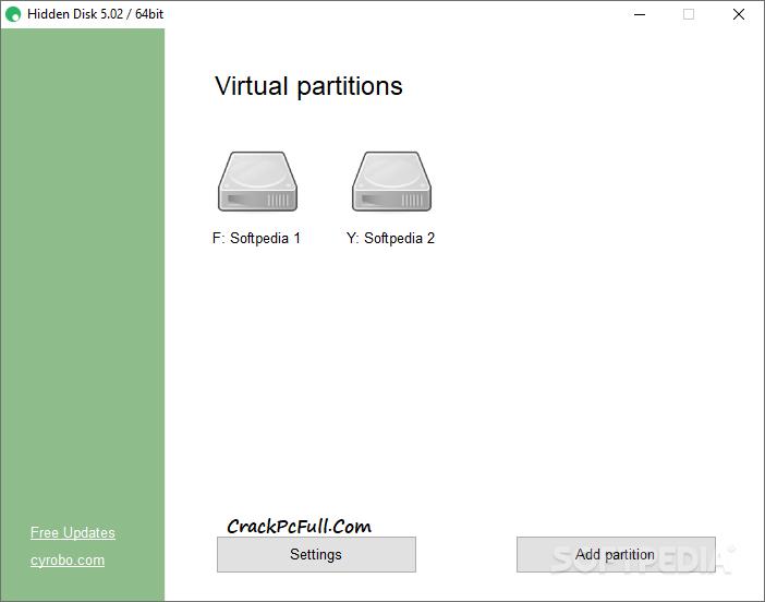 Cyrobo Hidden Disk Pro Keygen