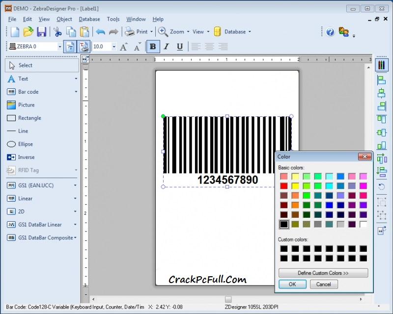 Zebra Designer Pro Free Download